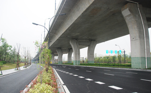 Qiangjiang Century City North Airport Subsidiary Road Project